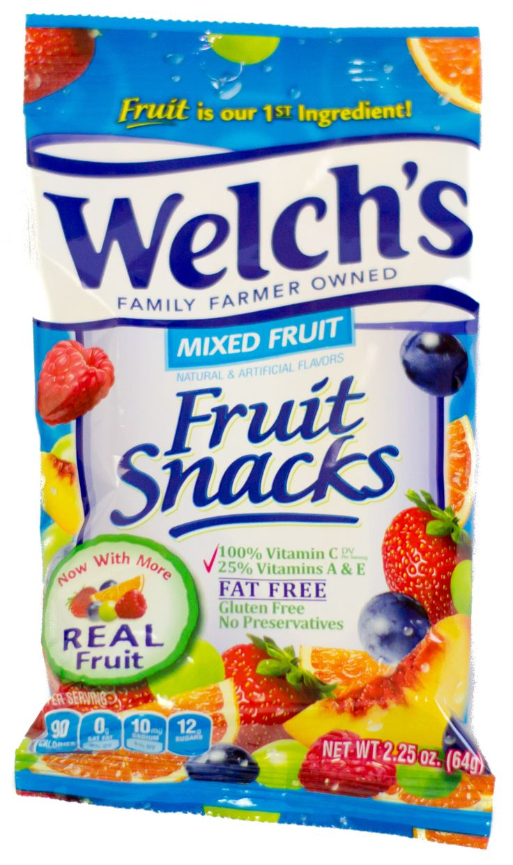 Welch's Mixed Fruit Fruit Snacks 2.25oz