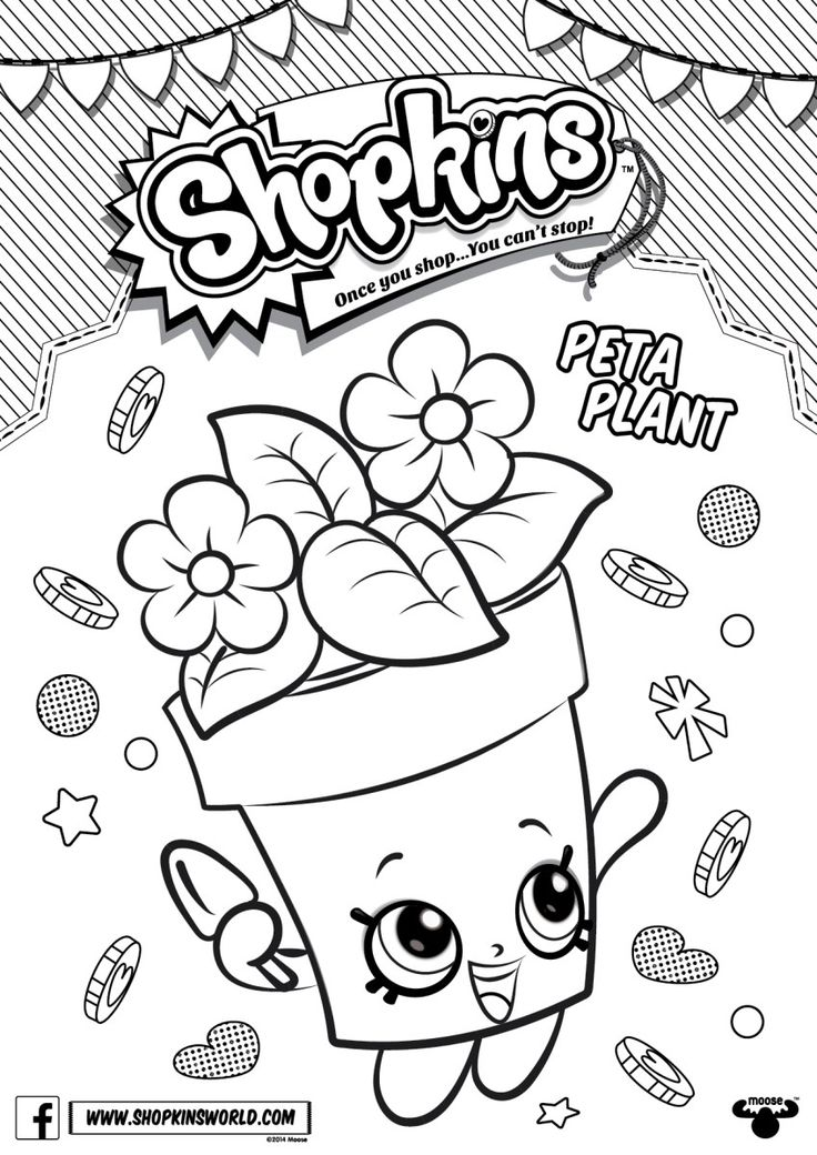 16 best Shopkins images on Pinterest Coloring pages, Kids coloring - copy new years eve coloring pages printable