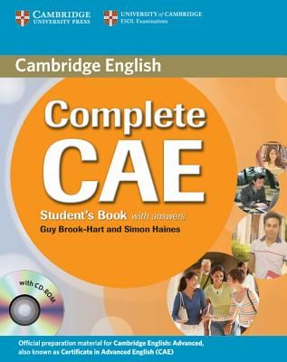 Complete CAE [Certificate Advanced English] students book with answers…