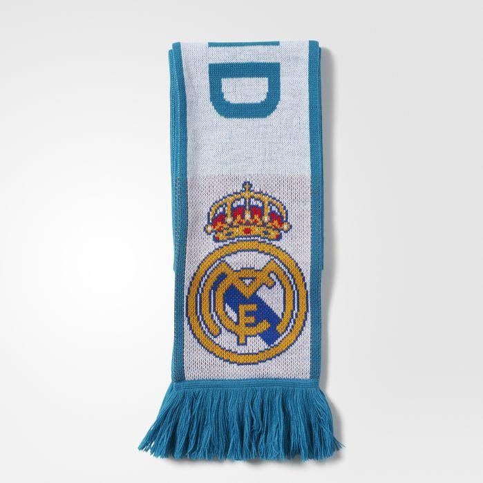 adidas Real Madrid Scarf - Mens Soccer Scarves