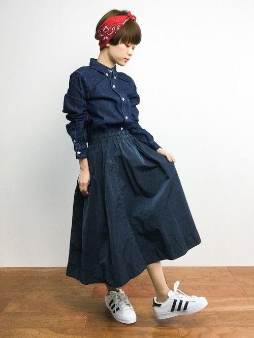 yukiさんの「LIMONTA サーキュラースカート◆(IENA)」を使ったコーディネート