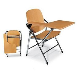 Chair Design Ideas Chair With Desk Folding Chair With Writing Tablet Either Just On The Seat As With Some Dining Room Ch Folding Chair Folding Desk Desk Chair