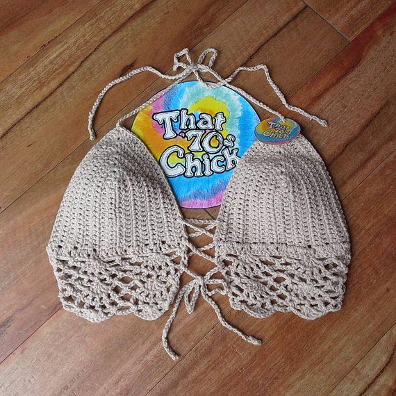 Check out this item in my Etsy shop https://www.etsy.com/au/listing/570245049/crochet-festival-top-boho-bikini-top