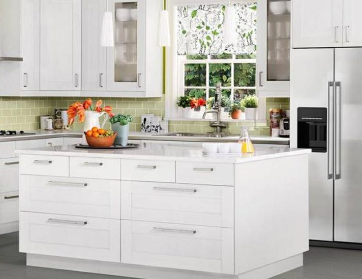 Best Ikea Kitchen Island With Small Drawers On Top Row And 400 x 300