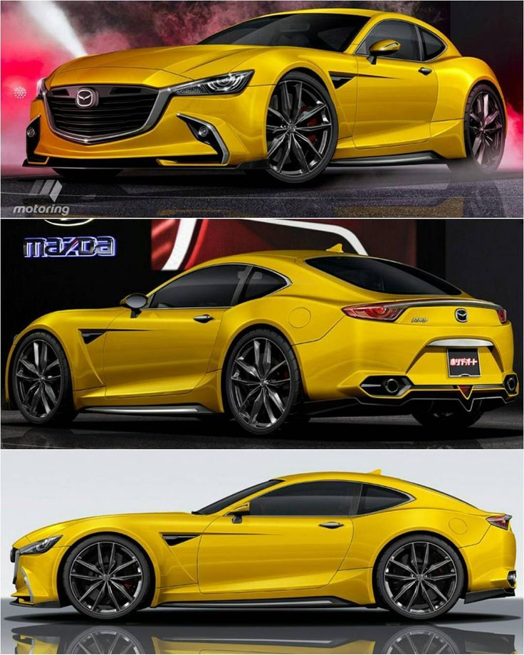 The RX9, a sub1300kg, 300kW reardrive rotary coupe due