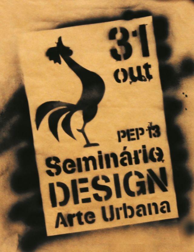 """Seminário de Design """"Arte Urbana"""" da UNIASSELVI acontece nesta quinta-feira (31)  Artistas do Movimento Grafite realizarão peças de arte com riscos, formas, figuras e cores no evento que tem entrada gratuita."""