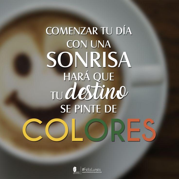 El mundo siempre se ve más brillante detrás de una gran sonrisa...  ¡Feliz #IniciodeSemana! ☀️ #FelizLunes #FrasedelDía #LunesdeFrases #Frase #Lunes #Smile #Sonrisa #Cúcuta #Colombia #HotelArizonaSuites #Hotel