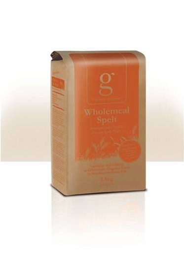 Gilchesters Organics : 100% Whole Spelt Strong Flour - Organic Stoneground Spelt Flour. Delicious