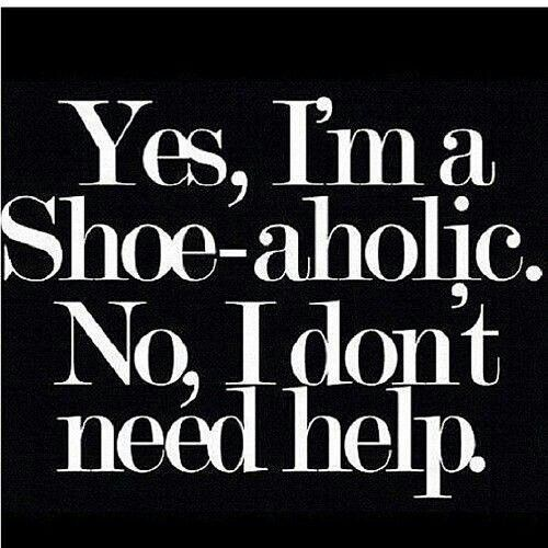 Boom my name is Traci and I'm a shoe alcoholic........