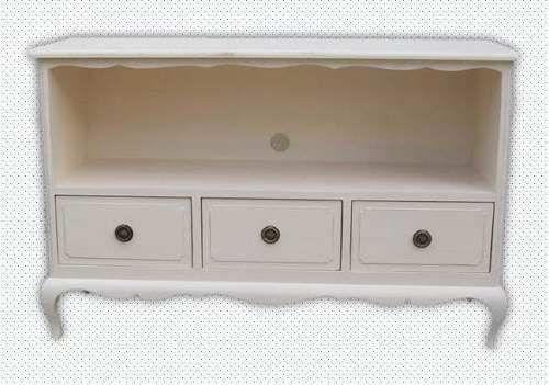 mueble bajo para tv lcd tipo vintage estilo luis xv