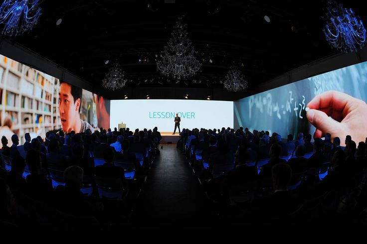 LED Videowall at an event in Frankfurt