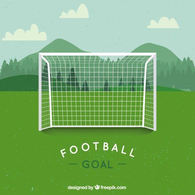Soccer Goal Free Vector Freepik Freevector Background Design Template Green In 2020 Soccer Goal Soccer Goals