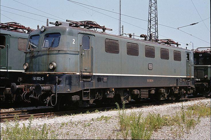 Deutsche Bundesbahn - Elektrotraktion: 141 002