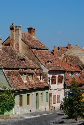 Image Emotions: Sibiu - the old city