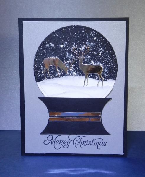 My Snow Globe by jandjccc - Cards and Paper Crafts at Splitcoaststampers