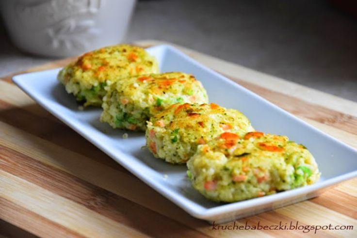 Kotleciki jaglane z brokułem