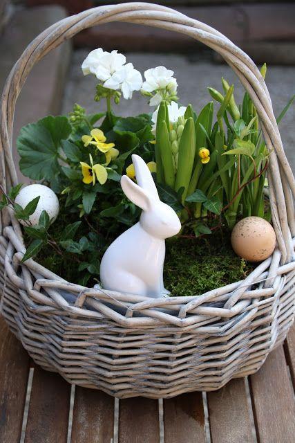 DIY Osterkorb das ideale Ostergeschenk selbstgemacht