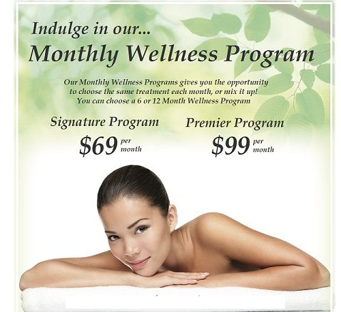 Our Monthly Wellness Programs gives you the opportunity to choose the same  treatment each month,