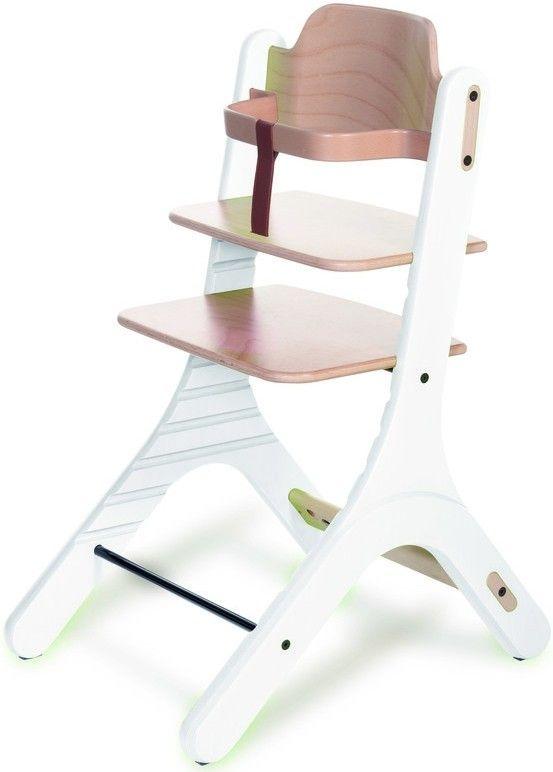Duux Dapper High Chair - Rostoucí židle 0+ Natural / White