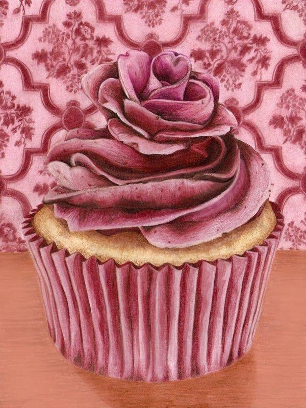 17 Best Images About Cupcake Dekupaj On Pinterest Clip