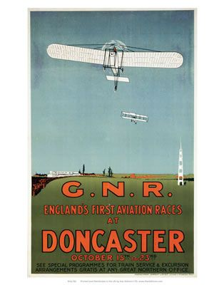 Englands First Aviation Races at Doncaster  GNR