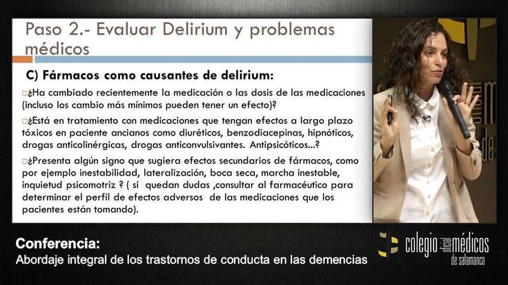 Abordaje integral de los trastornos de conducta en las demencias