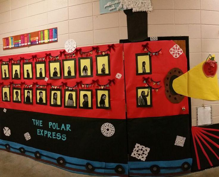 Polar Express door decoration
