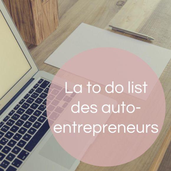 A ne pas oublier en décembre quand on est auto-entrepreneur