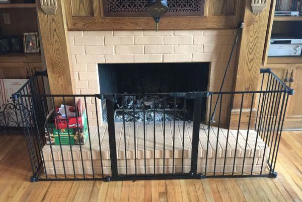 Baby Safe Homes Louisiana Installed A Hearth Gate Baby Safe