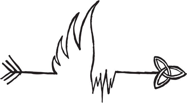 Persoonlijk logo voor visuals, wellicht een leuke en passende tattoo!:)