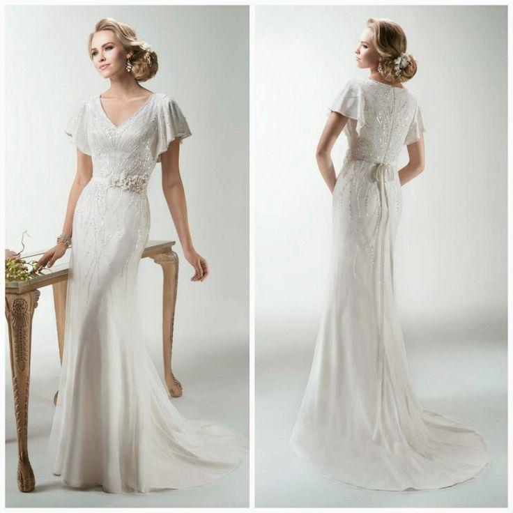 109 best Maggie Sottero images on Pinterest | Wedding frocks, Short ...