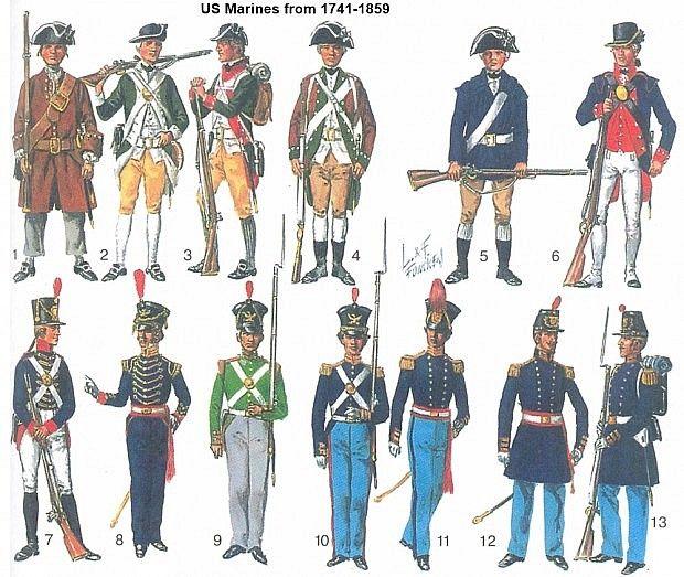 Marine Uniform History 19