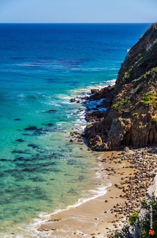 Pirate's Cove Beach, Malibu CA .. almost like a private beach