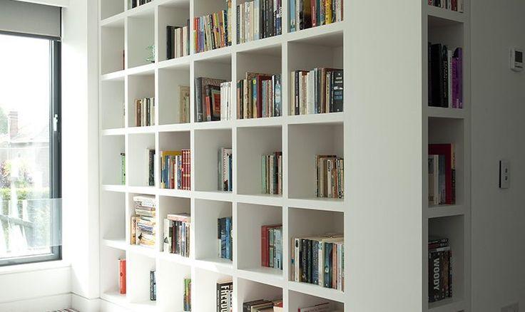 Study - Newcastle design bookshelves