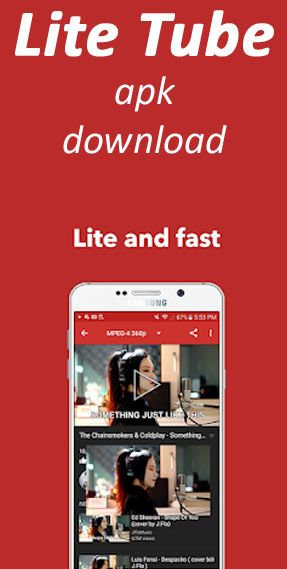 Lite Tube apk for android download - floating HD Youtube video