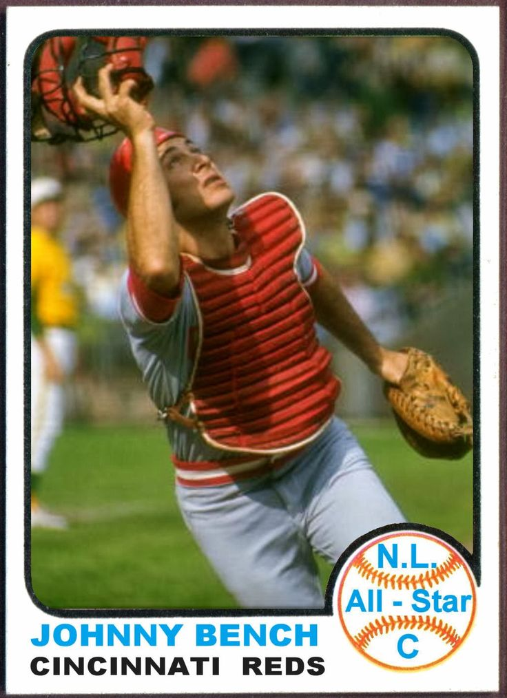 1000 Images About Johnny Bench Mr Red 3 Mlb On Pinterest
