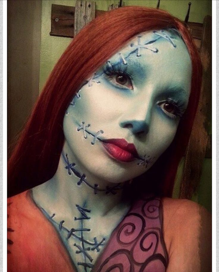 Love the make up for this Sally