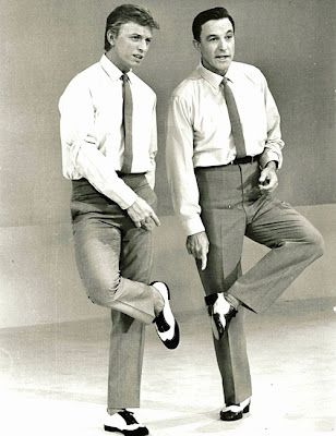 Gene Kelly and Tommy Steele. - I love to watch both of these gentlemen!