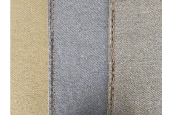 Tela de franela lisa de color beige, azul o gris. Tejido denso y con textura suave. La lanilla de la franela hace que la tela retenga el calor, por lo que abriga bastante. Tejido versátil. Perfecto para la confección de prendas infantiles, para niño o niña (faldas, vestidos, pantalones). También adecuado para la confección de señora chaquetas, vestidos, faldas..#Franela #lana #tela #lisa #beige #azul #gris #denso #suave #lanilla #caliente #versátil #confección #infantiles #niños #bebés…