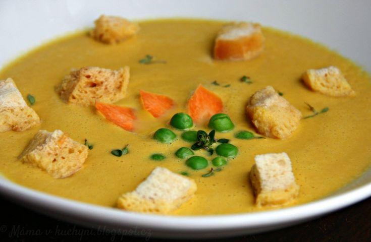 Krémová polévka z kořenové zeleniny pro děti od 1 roku