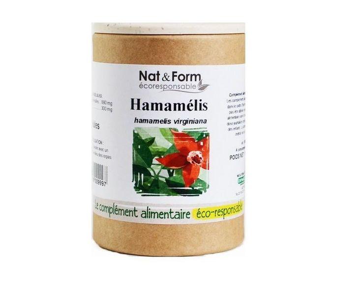 L'Hamamélis est l'allié veinotonique des jambes lourdes et hémorroïdes, il a aussi un effet antiinflammatoire et augmente la résistance capillaire