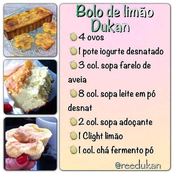 Diário sobre a dieta e receitas Dukan - @reedukan - Do Instagram ao Blog: BOLO…