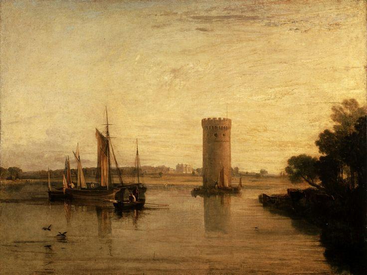 """Mañana tranquila exhibida"", 1809, Joseph Mallord William Turner #Magarte #historiadelarte #Turner #Tate 208/365"
