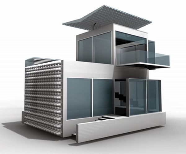 10 self sufficient futuristic houses | Designbuzz : Design ideas and concepts