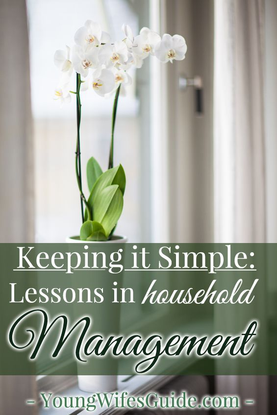 While I love adding a flourish to everyday life – sipping out of cute tea cups, decorating my house, working on cute craft projects, etc. – I have also learned that in order to survive (and thrive) within my home, I need to keep some things simple! It's my key to living a productive life.