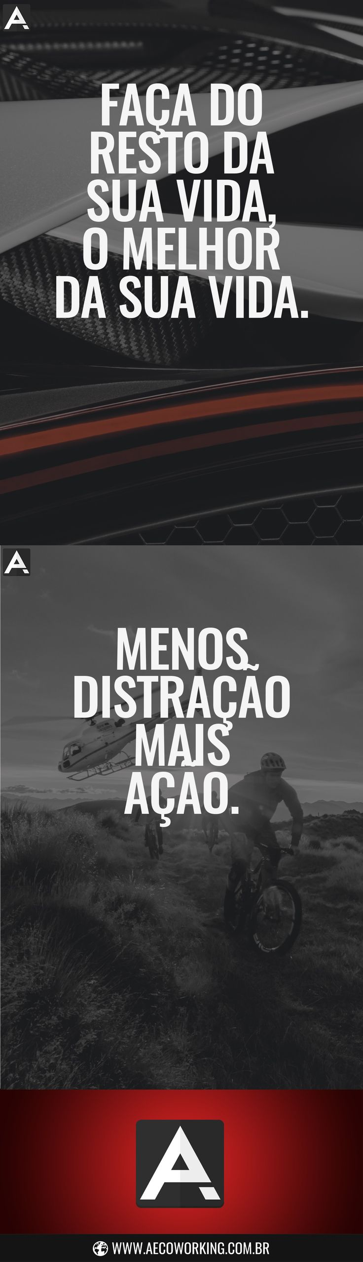 Frases - Motivacionais - Criativas - inspiração - Motivação - Trabalho - Coworking - Brasil