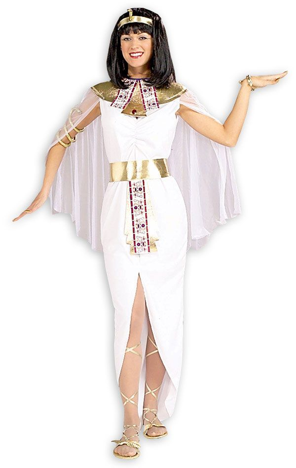 Golden White Cleopatra Cosplay Egyptian Queen Costume Sell ...
