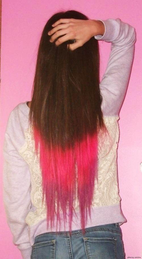 cute hair, color
