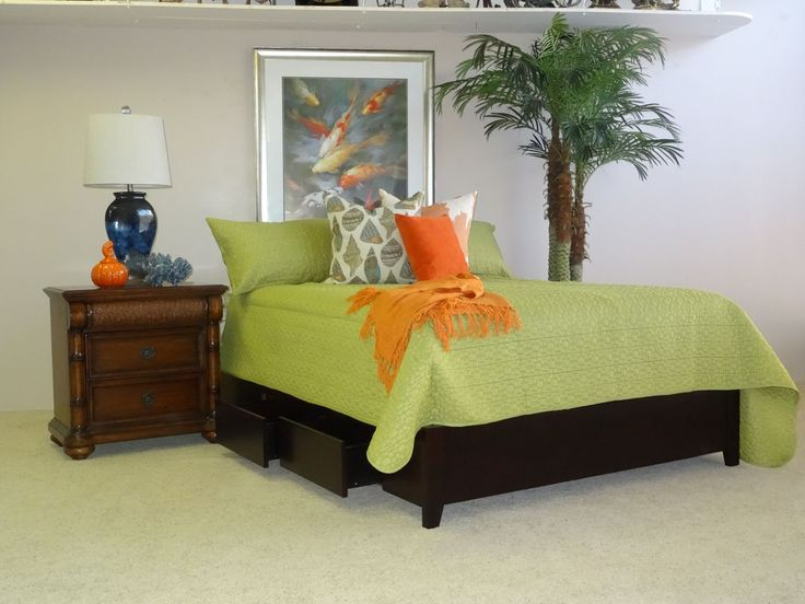 Bring contemporary island themes to your tropical oasis with this Modus Platform Storage bedroom set! This platform bed holds both box and mattress while giving you two drawer on either side with easy access to store items. This collection is perfect for tropical cottages or condominiums!  Check it out: http://www.mindseyeinterior.com/bedroom-contemporary.php  #HomeInspiration #CreativeHomeDecor #IslandLifetstyle