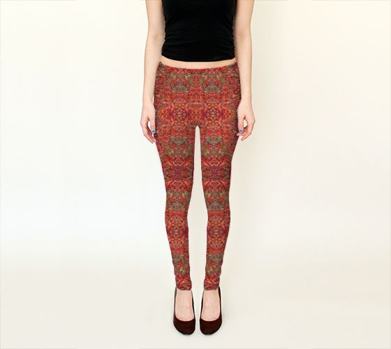 Parker Ridge Leggings By Jean michel The accumulation of geometric patterns makes one think of a thousand beads in the Rocky Mountains of Western Canada. It is all in the details, this piece surely has rhythm, making this a very charming and stunning piece.